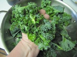 Schmunching Kale